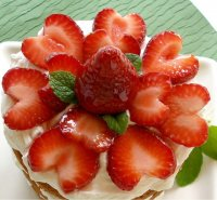 Fresh Strawberries and Cream Cake Tutorial Recipe