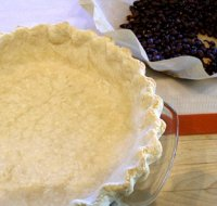 How to Roll, Flute, and Prebake a Pie Crust