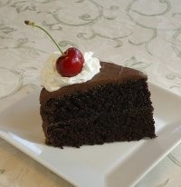 Healthy Oven Chocolate Fudge Cake Recipe