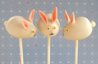 Easter Bunny Cake Pops Tutorial