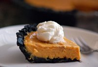 Healthy Oven Sweet Potato Cheesecake Pie Recipe