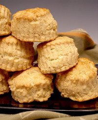 Tender and Flaky Sweet Biscuits Recipe