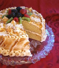 Cuatro Leches Vanilla Mantecado Cake Recipe