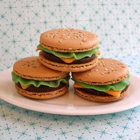 Cheeseburger Macs or Macarons Recipe Tutorial