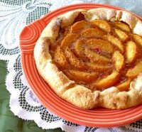Fresh Peach Galette Tutorial