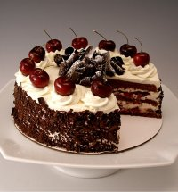 Black Forest Cherry Cake (Schwarzwalder Kirschtorte) Recipe