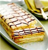 Chocolate Ganache Napoleons Recipe