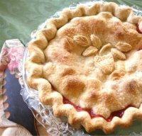 Strawberry Rhubarb Pie Recipe, Step-by-Step