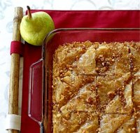 Healthy Oven Pear Baklava Tutorial