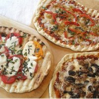 Grilled Pizza Recipe - Three Variations