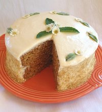Healthy Oven Applesauce Layer Cake Recipe