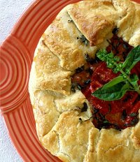 Savory Galette Tutorial, Two Ways