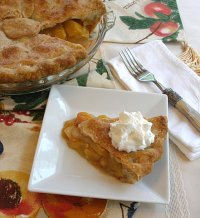 Classic Double Crust Peach Pie Recipe