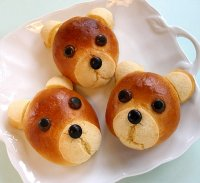 Teddy Bear Rolls Recipe Tutorial