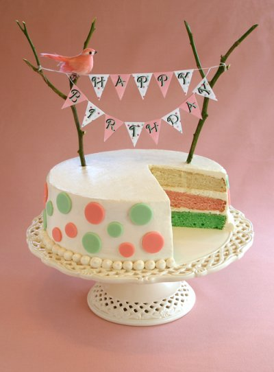 KELLY SAYS Sarah And I Have Been Wanting To Do A Birthday Cake With Twist Tutorial For Long Time We Hope You Enjoy This The
