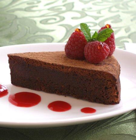Images Of Chocolate Almond Cake : Flourless Chocolate Almond Cake or Torta Caprese ...
