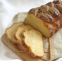 Challah Bread from a Starter Recipe