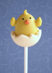Hatching Birdie Chocolate Truffle Pops Tutorial