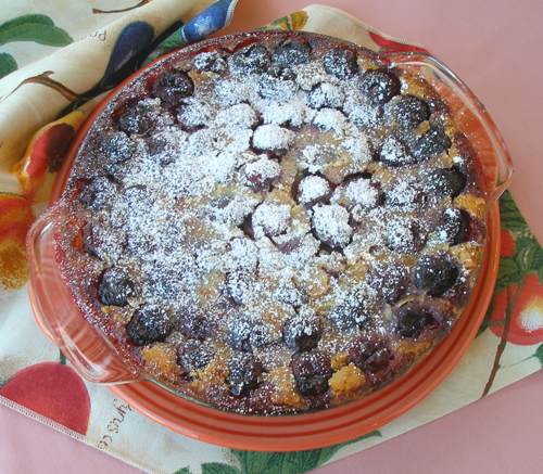Cherry or Apricot Almond Clafoutis or Clafouti | CraftyBaking ...