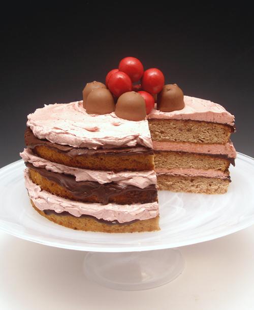 Chocolate Covered Cherry Jam Cake Craftybaking Formerly Baking911