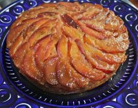 Italian Plum Upside-Down Cake Recipe