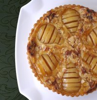 French Pear Tart or La Tarte Bourdaloue Recipe