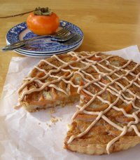Persimmon Frangipane Tart Recipe Tutorial
