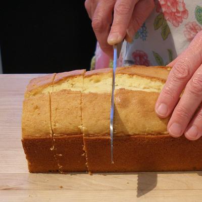 Toasted Pound Cake with Grapefruit and Vanilla Curd   CraftyBaking ...