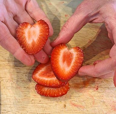 Strawberries Hearts Craftybaking Formerly Baking911