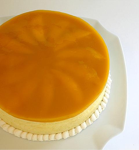Glazed Mango Mousse Cake Craftybaking Formerly Baking911