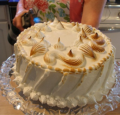 Cake Recipes With Pictures And Procedure : Meringue - Brown or Browning Techniques CraftyBaking ...