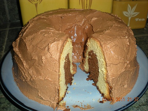 Malted Milk Black-and-White Pound Cake | CraftyBaking | Formerly ...