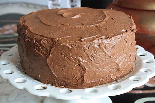 Moist Very Chocolaty Chiffon Cake Craftybaking
