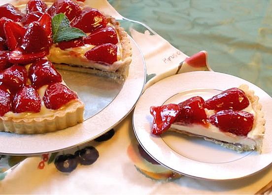 breezy mandarin orange cream tart easy breezy raspberry cream tart