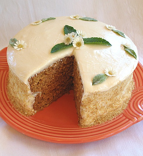 Shortened cake recipe