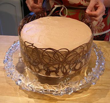 Cake Chocolate Collar