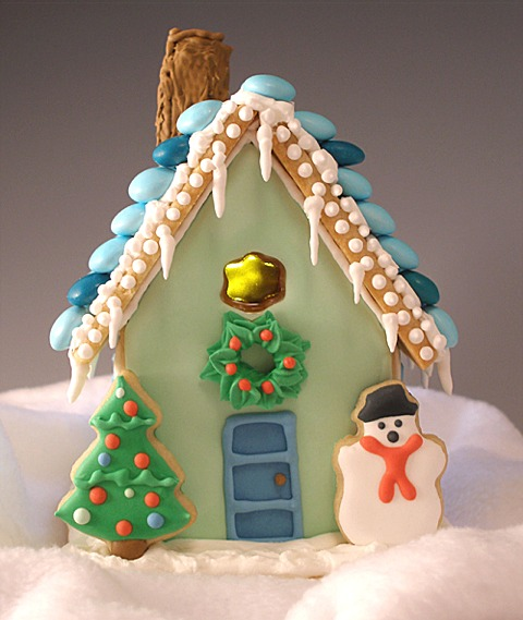 Christmas Cookie Cottage Tutorial Craftybaking Formerly Baking911