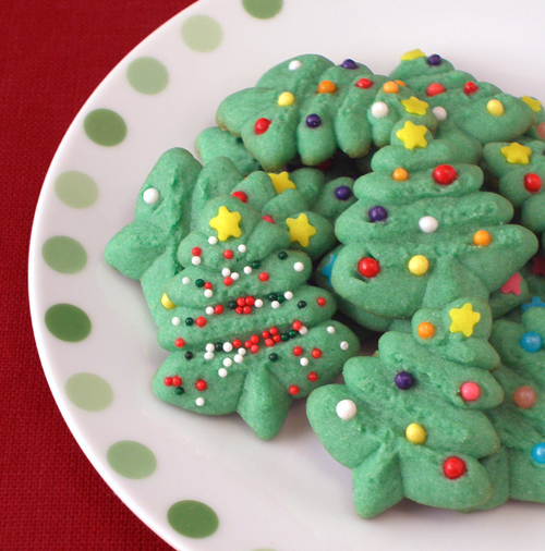 Spritz Cookies | CraftyBaking | Formerly Baking911