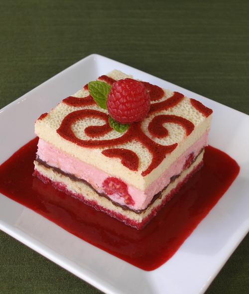 Arabesque Patterned Sponge Cake Shapes Craftybaking