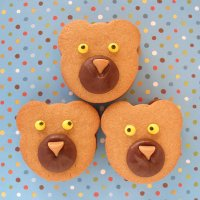 Peanut Butter Teddy Bear Sandwich Cookies Tutorial
