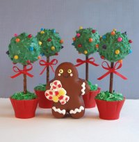 Topiary Cake Pops Recipe Tutorial