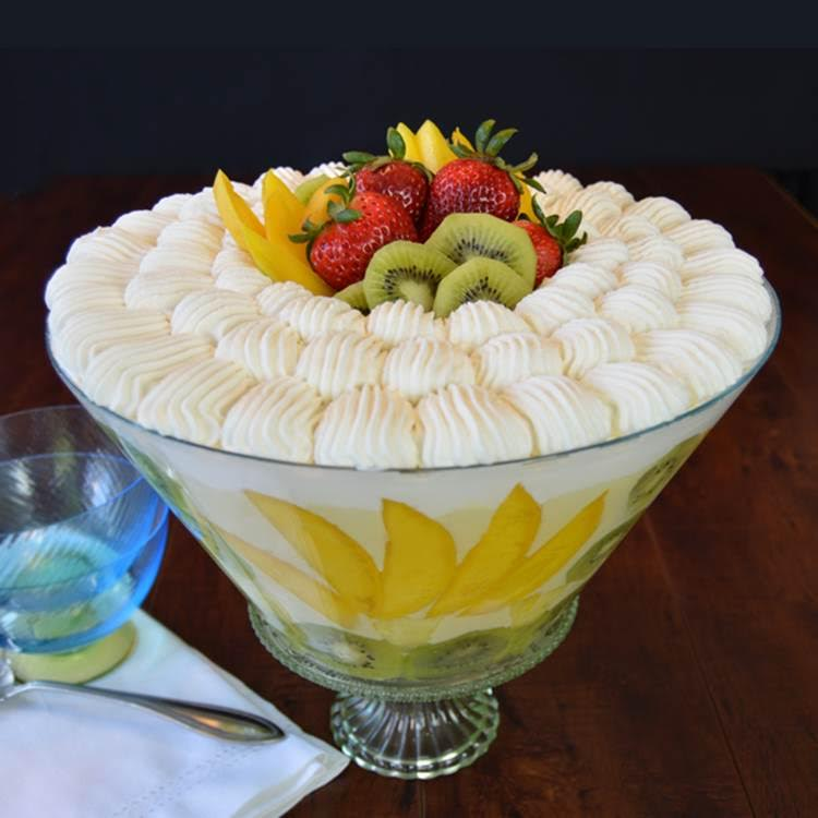 all fruits fruit trifle