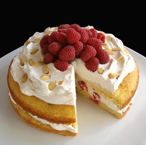 Lemon Raspberry Polenta Cake | CraftyBaking | Formerly ...